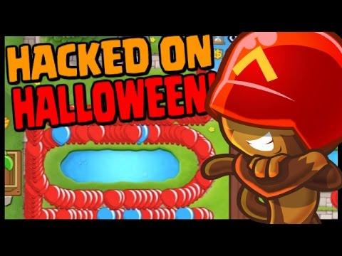Bloons TD Battles - HALLOWEEN HACKER?! -...