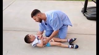 PRETENDING TO BE A DOCTOR!!! **PRANK**