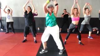 Eartha Baca, Zumba Fitness Sherman Oaks Rock Stars,