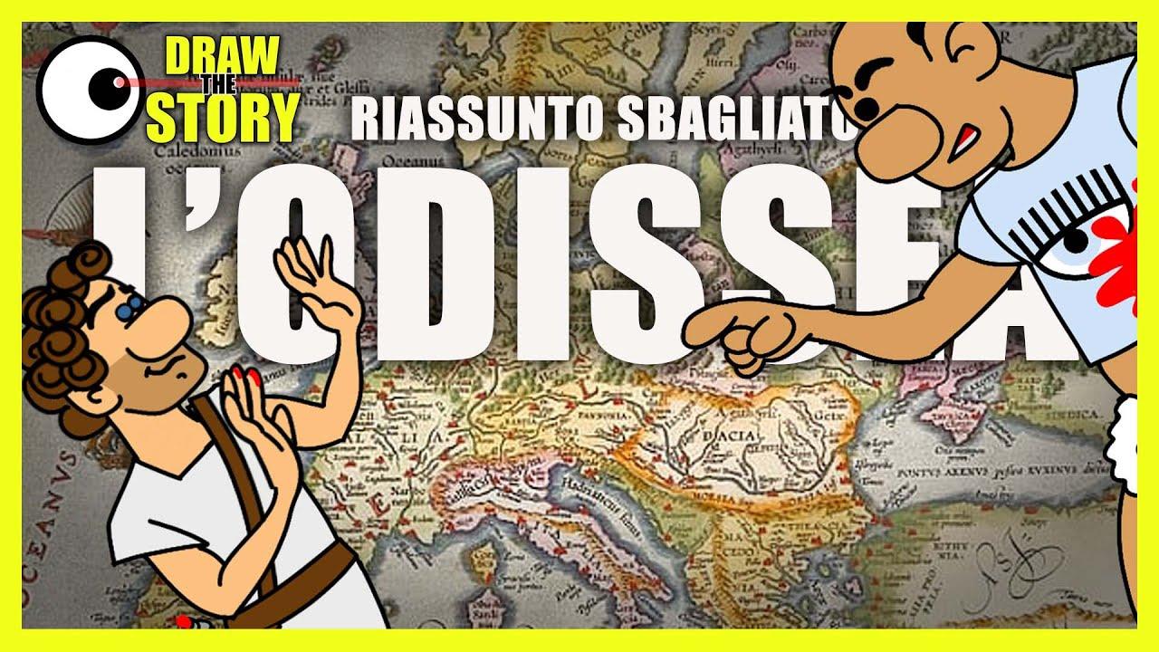 Download L'ODISSEA ma è un RIASSUNTO che Nessuno ha chiesto ⛵ Draw The Story