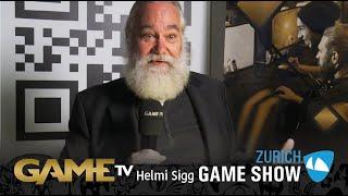 Game TV Schweiz - Helmi Sigg | PR Fachmann | Zürich Game Show