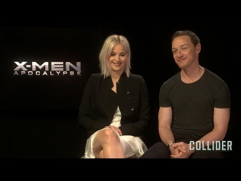 Jennifer Lawrence and James McAvoy on 'X-Men: Apocalypse', NSFW Improv, and 'New Mutants'