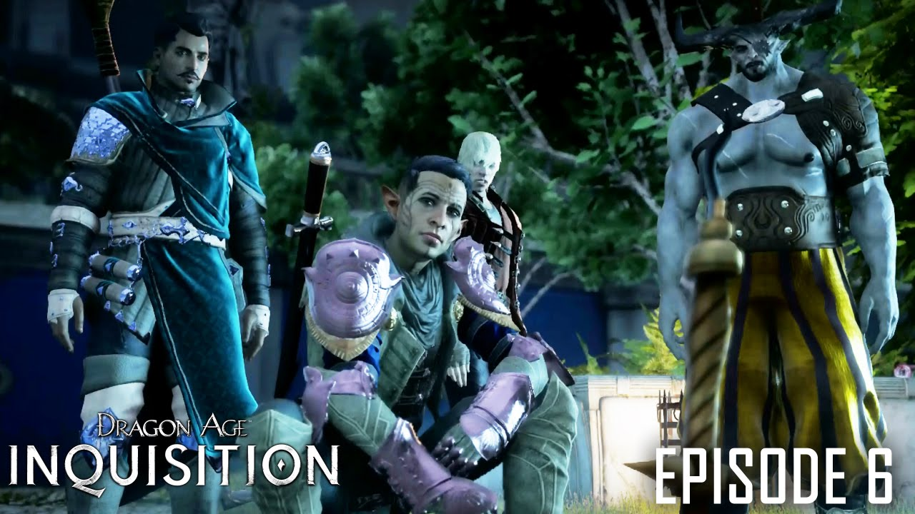 """Download Dragon Age: Inquisition Episode 6 """"The Winter Palace"""" 1080p HD"""