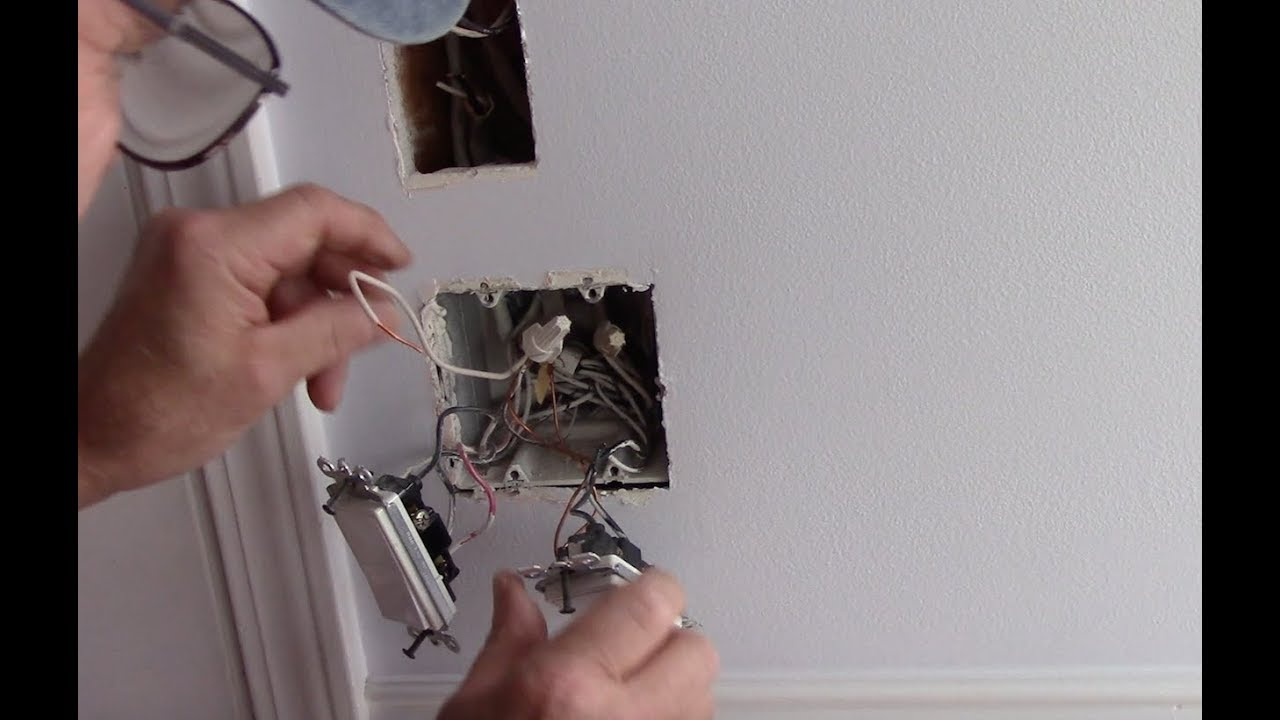 How To Permanently Remove A Light Switch - How To Fix A ...