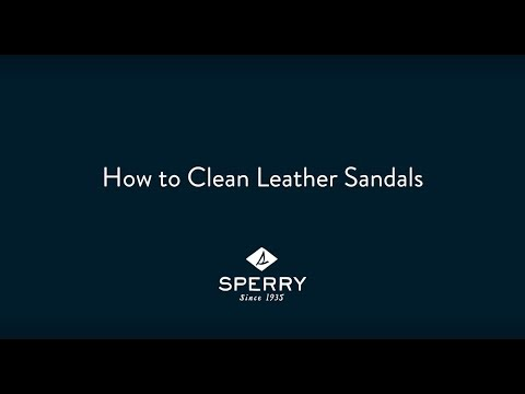 How to Clean Your Leather Sandals