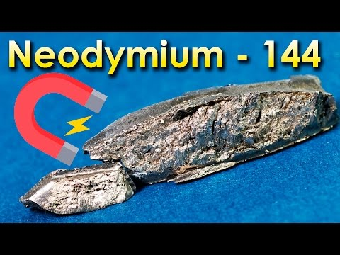 Neodymium  - A METAL Is Used to Make MAGNETS!