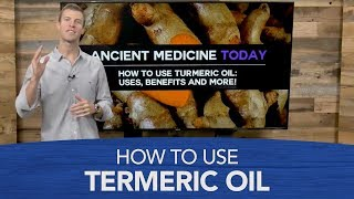 Wie zu Verwenden Kurkuma Öl