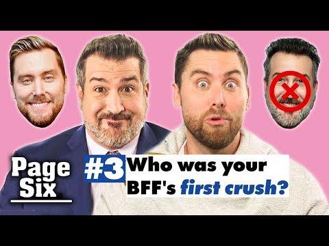 Joey Fatone and Lance Bass Take Friendship Test | Page Six