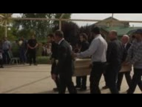 Funeral For 3 Americans Killed In Mexico Ambush