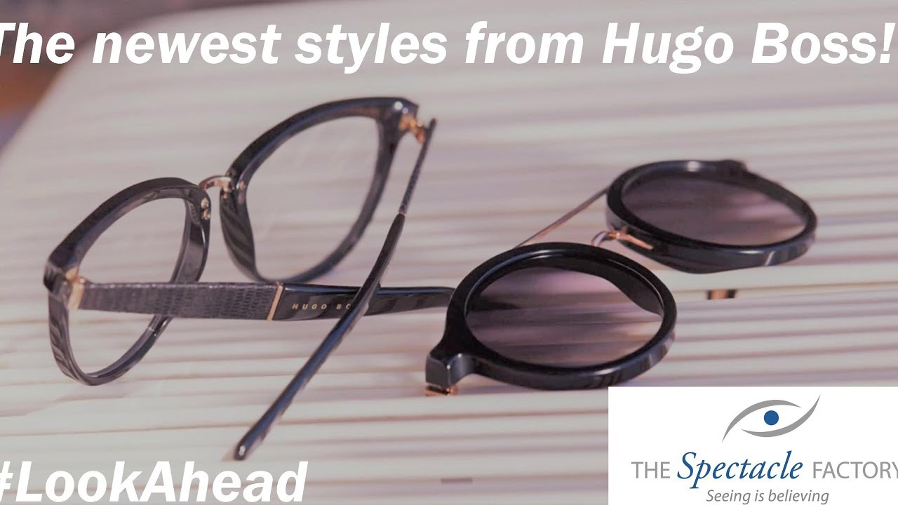 62053e06166 Looking for new Glasses or Sunglasses  Here s the new releases from Hugo  Boss Eyewear