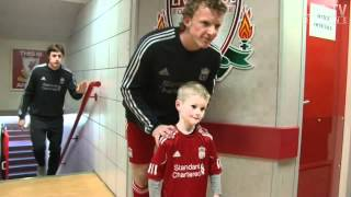 Anfield Tunnel: Acces All Areas v Stoke City