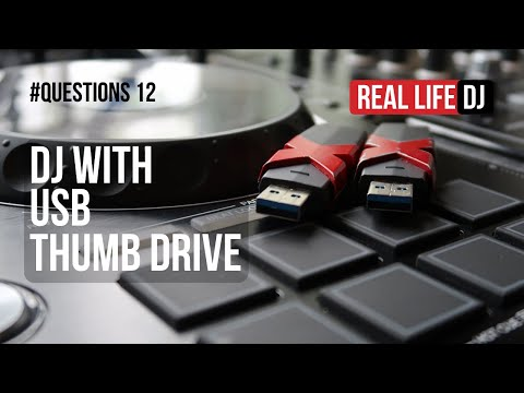 Why You Would Need 2 x USB Thumb Drives To DJ With | #Questions 12 | Real Life DJ