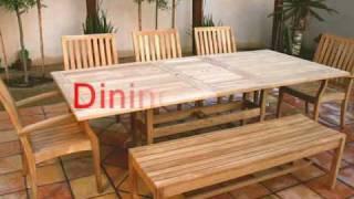 Modern Teak Tables, Teak Outdoor Tables, Teak Wood Patio Tables For Deck Or Garden.