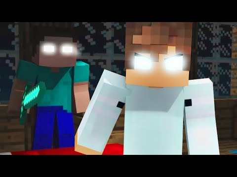Best Hackers Songs - Herobrine vs Psycho Girl (Top Minecraft Songs)