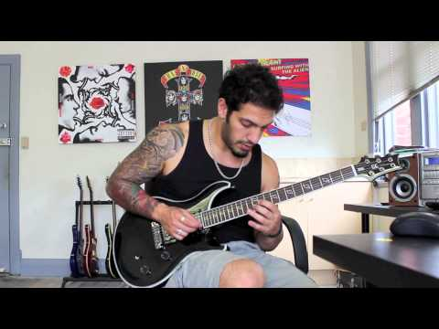 How to play 'The Last Fight' by Bullet For My Valentine Guitar Solo Lesson