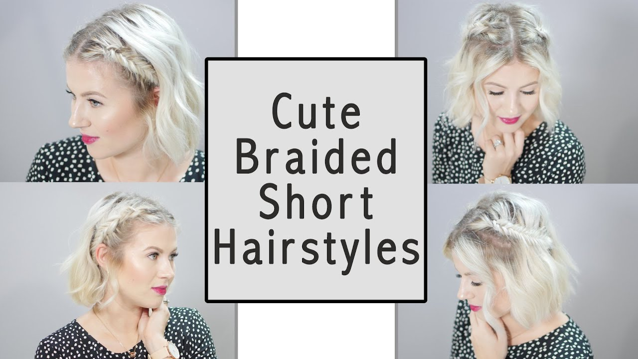 cute braiding styles for short hair braided hairstyles milabu 1194 | maxresdefault