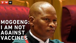 Chief Justice Mogoeng Mogoeng has defended a prayer he delivered at the Tembisa Hospital on 10 December 2020, saying there was nothing untoward about the prayer because South Africa was a secular state. Mogoeng prayed against corruption and COVID-19 vaccines, which he said might be harmful to humans. Mogoeng also said that he never said he was against vaccines, but against vaccines that may 'corrupt' DNA and called on God to destroy it.