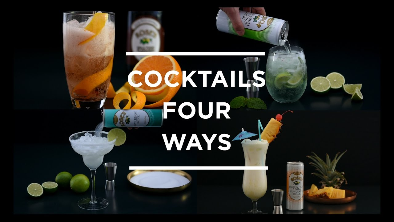 Cocktails 4 Ways