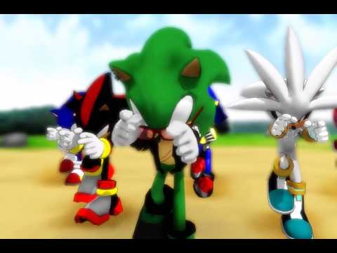[MMD] Hedgehogs Party Rock Anthem (Scourge,Shadow,Silver,Amy,Sonic,MetalSonic).