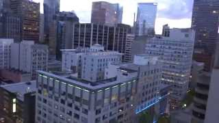 Vancouver, British  Columbia - Vancouver Lookout Tower - Elevators HD (2014)