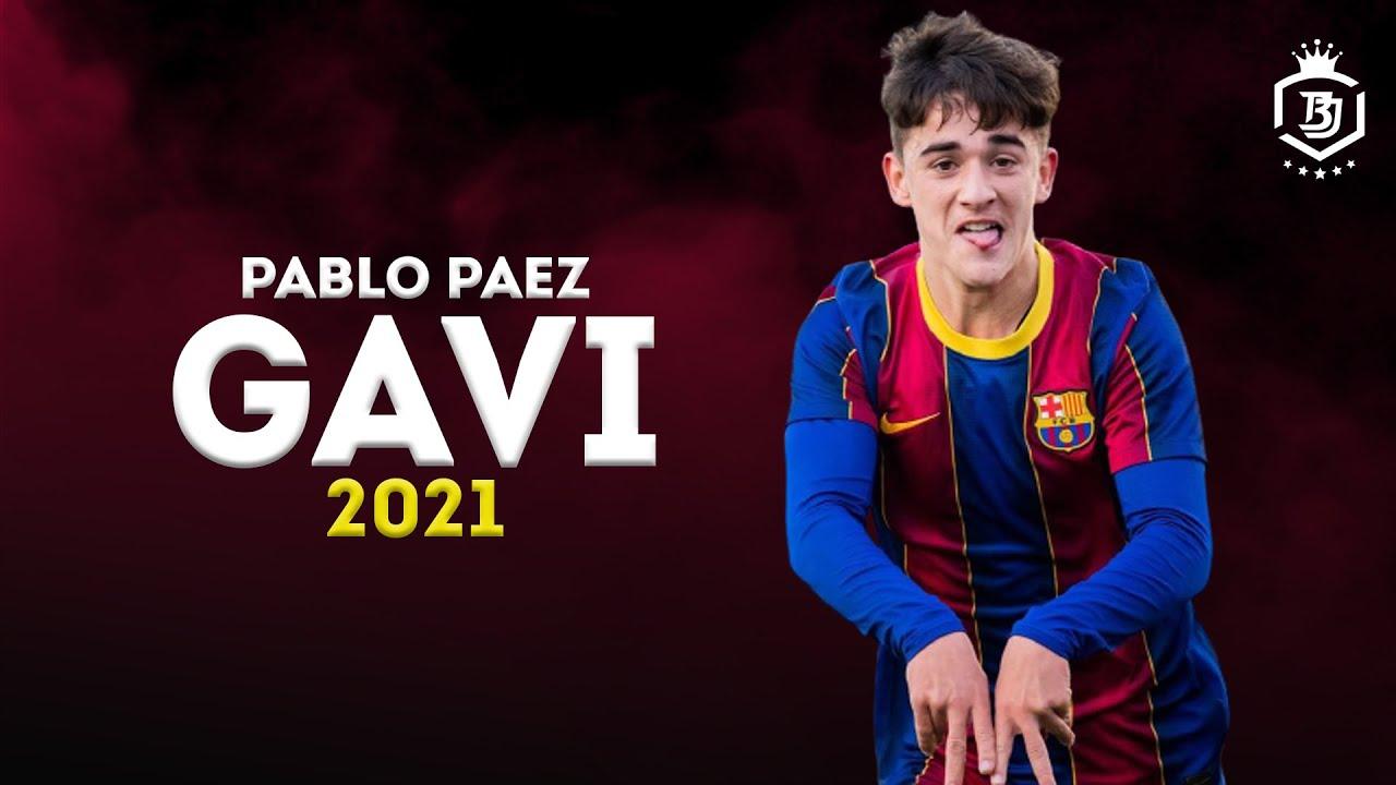 Download Pablo Páez Gavi 2021 - The Future Of Barcelona -  Skills & Goals | HD