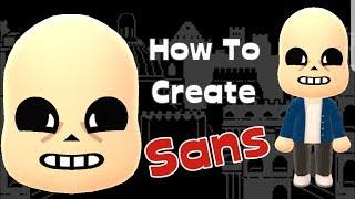Mii Maker: كيفية إنشاء Sans!