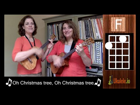 Oh Christmas Tree Ukulele Tutorial Chords - 21 Songs in 6 Days: Learn Ukulele the Easy Way