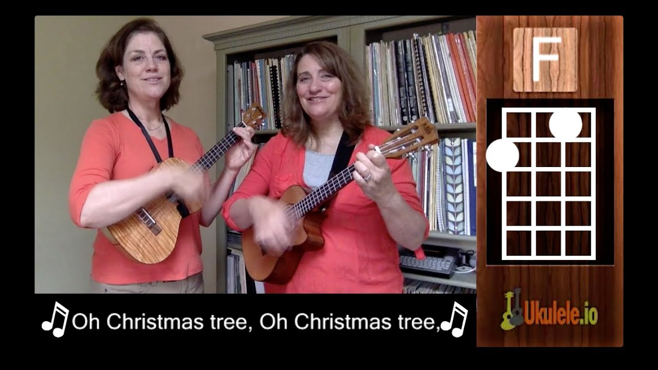 Oh Christmas Tree Ukulele Tutorial Chords - 21 Songs in 6 Days ...