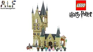 LEGO Harry Potter 75969 Hogwarts Astronomy Tower - Lego Speed Build Review