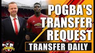 Paul Pogba BOMBSHELL & Woodward overrules Solskjaer again! Transfer Daily