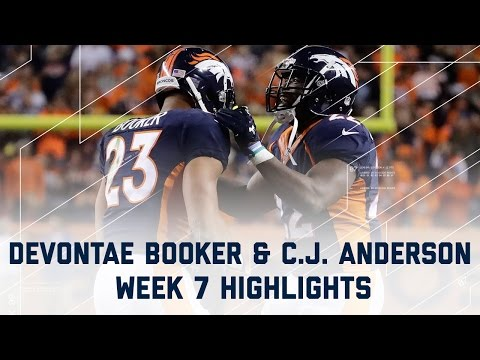 Devontae Booker & C.J. Anderson Highlights | Texans vs. Broncos | NFL Week 7 Player Highlights