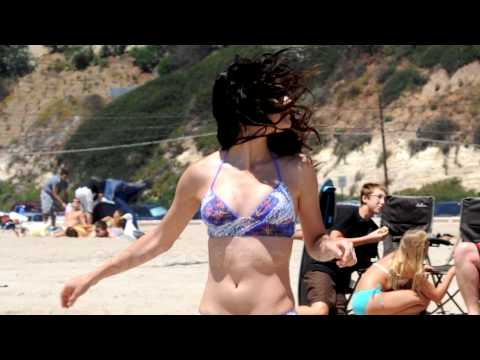 Hot Selena Gomez at Beach HD thumbnail