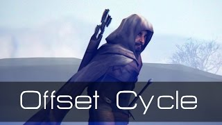 Offset an Animation Cycle in Blender Tutorial