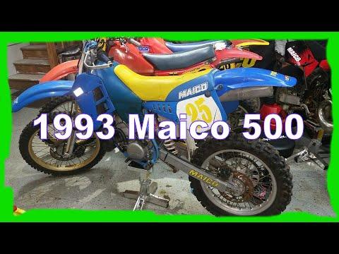 1993 Maico 500 New Dirtbike Review