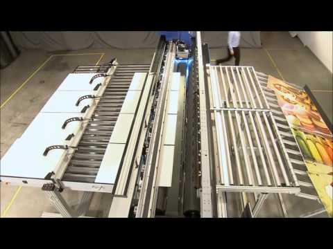 EFI Matan automatic flatbed