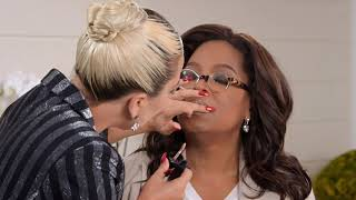 Lady Gaga Gives Oprah a Makeup Tutorial Using Her Haus Laboratories for Favorite Things Video