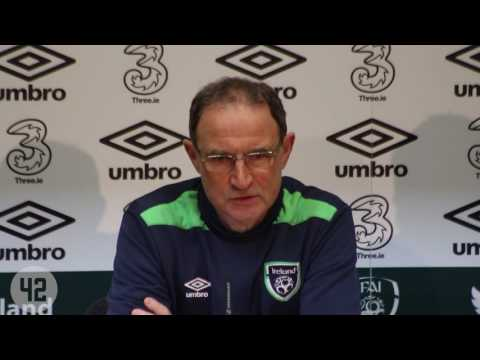 Martin O'Neill speaks about James McClean paying his respects to friend Ryan McBride