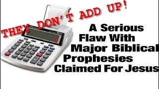 Biblical Prophecies For Jesus Don't Add Up! (Messianic Jews for Jesus igod.co.il One for Israel Maoz