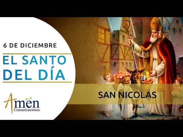 San Nicolas l Viernes 06 de Diciembre de 2019 l Padre Carlos Yepes