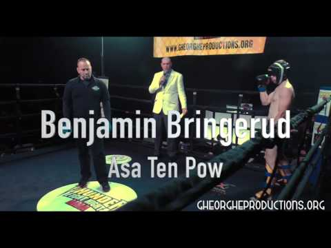 "Ben ""Swede-heart"" Bringerud Thunder Fight Night MMA 2"