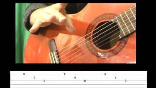ROMANZA Spanish Romance  -  (Guitar Lesson) - How to play