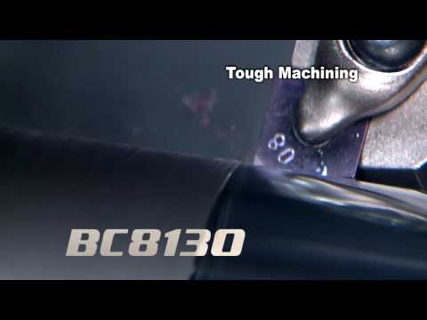 Mitsubishi Materials BC8100 Series of Coated cBN for Hard Turning of Steel