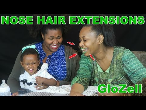 Nose Hair Extensions - GloZell