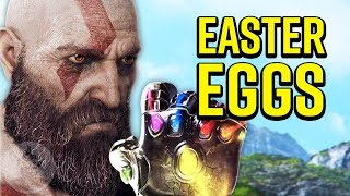 9 God Of War Easter Eggs And References You May Have Missed! Easter Eggs # 20 | The Leaderboard