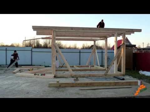 Скачать видео строительства каркасных домов в США