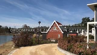 Prachtig vakantiehuis aan het water op Droompark de Zanding in Otterlo Veluwe