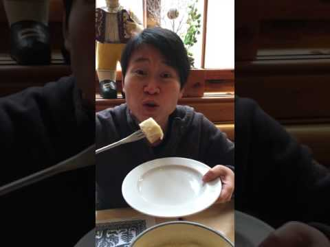 Katherine Law - Cheese Fondue in Zurich Switzerland 2015