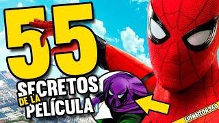 Spider-man Homecoming - 55 Easter Eggs, Referencias y Cameos que NO Viste de la Película!!