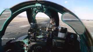 Посадка МиГ 27. Аэродром Талдыкорган. 28/11/2012.