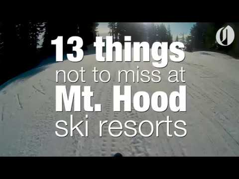 Finally, all of Mount Hood ski resorts will be open for a super snowy weekend